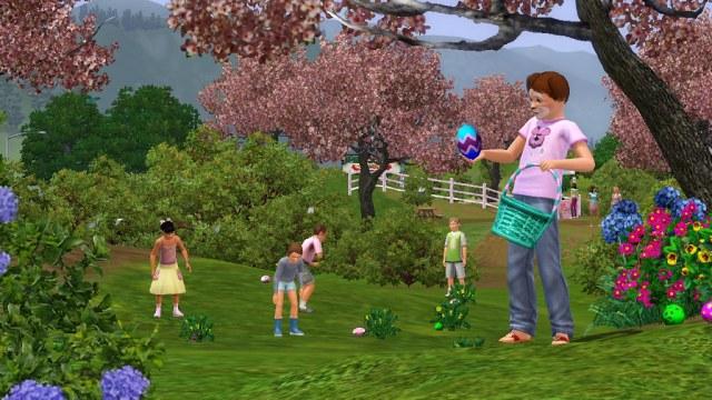 Les Sims 3 Chasse aux oeufs