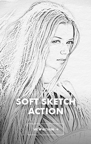 Special Sketch Photoshop Action - 106