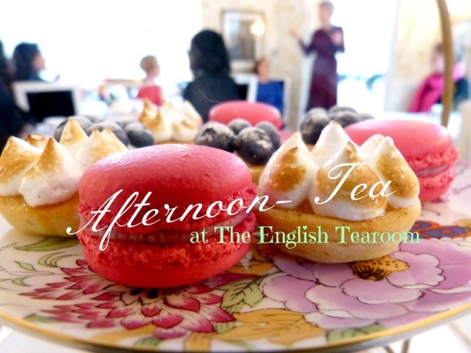 picture afternoon tea at the english tearoom