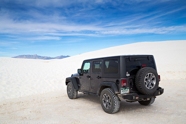 White Sands Jeep