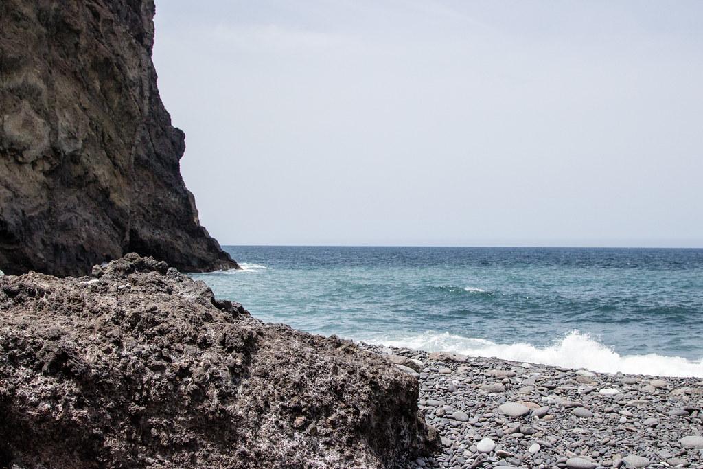 Tenerife's Playa Tamadiste