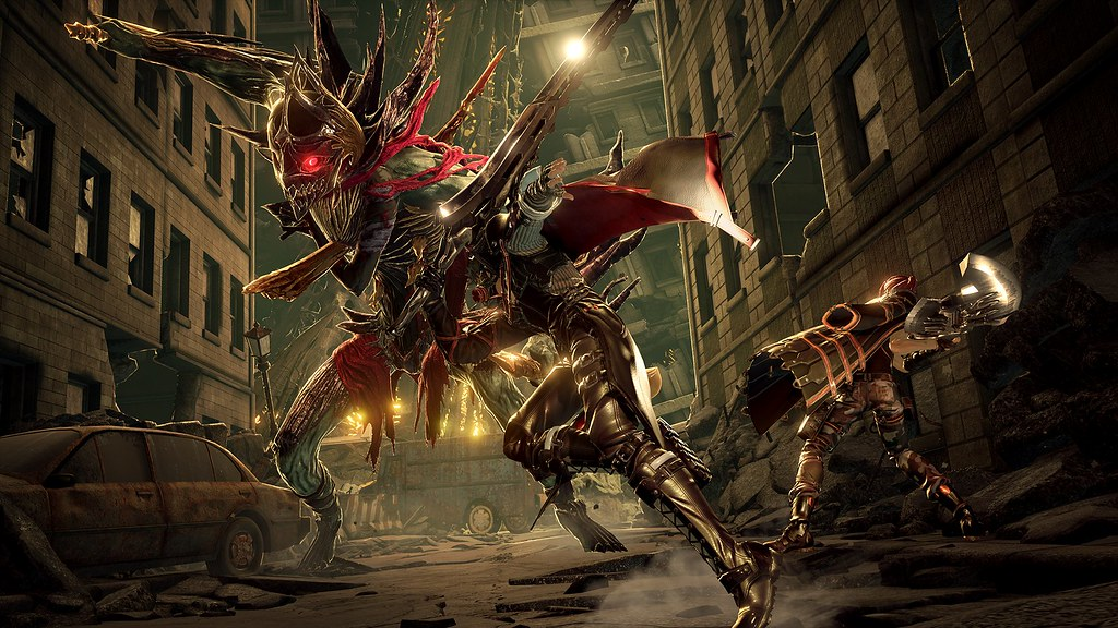 Code Vein Announcement Trailer