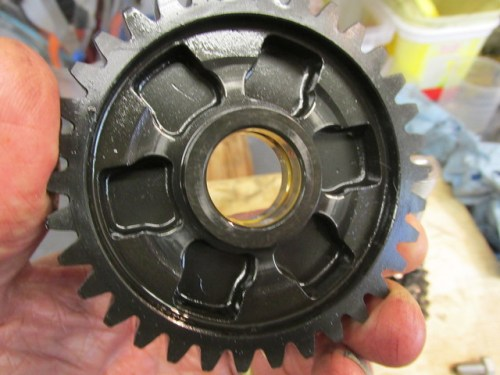 Output Shaft 1st Gear