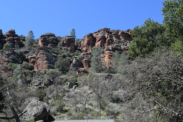 Rock formation at Trailhead