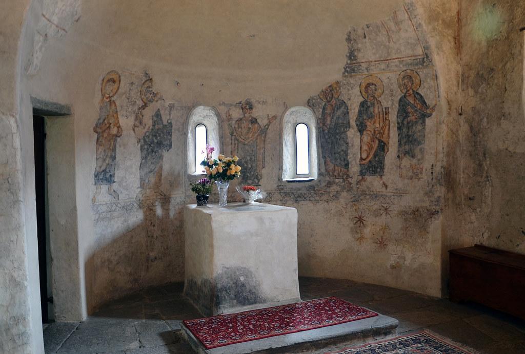Tirano SO Chiesa Santa Perpetua  Il ciclo di affreschi