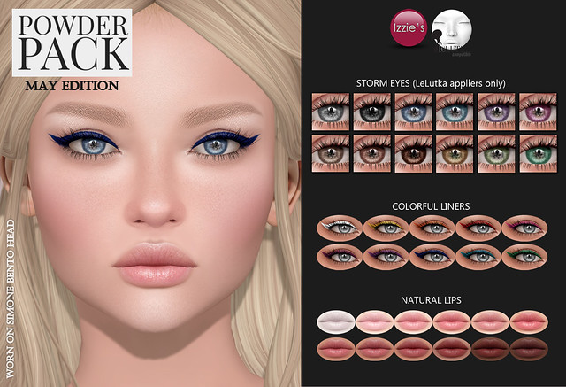 Powder Pack LeLutka May Edition released