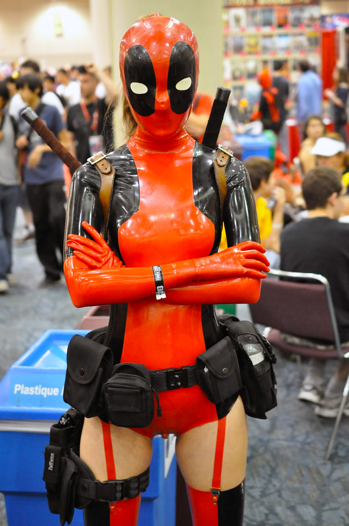 Ladypool Latex Michael Starcevic Flickr