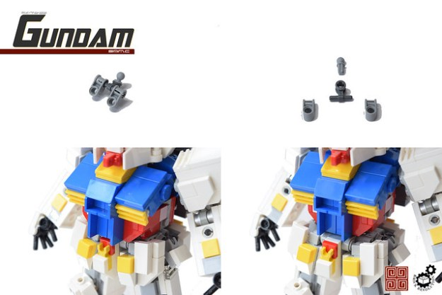 21. Gundam CGS assembly