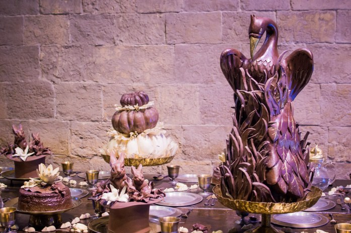 Yule Ball Props Warner Bros Studio London