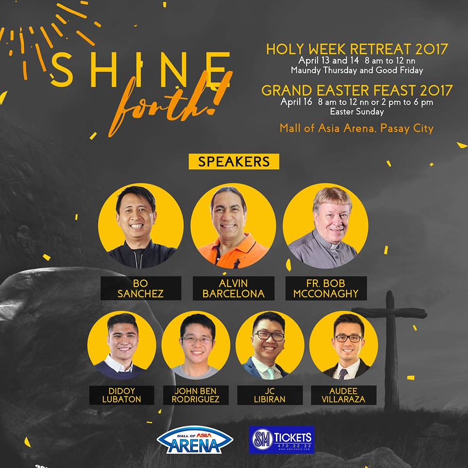 Shine Forth - Speakers