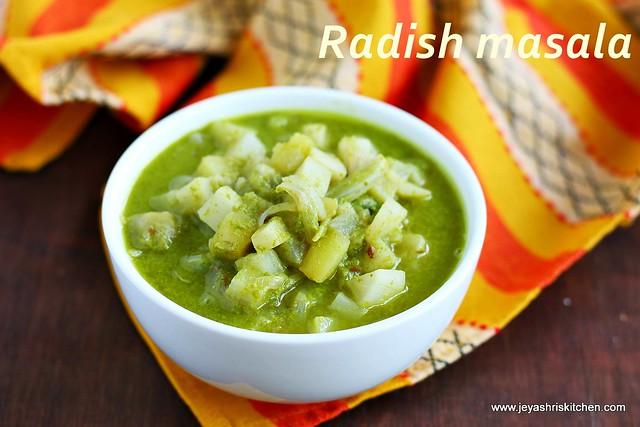 Radish-masala