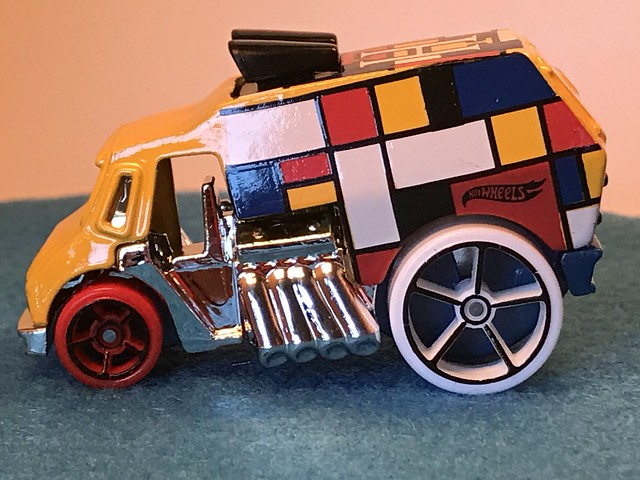 Hot Wheels Cool-One, 2017 HW Art Cars 8/10