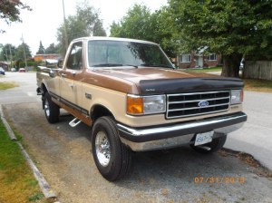 1990 Ford F250 XLT Lariat Diesel | This is my long time