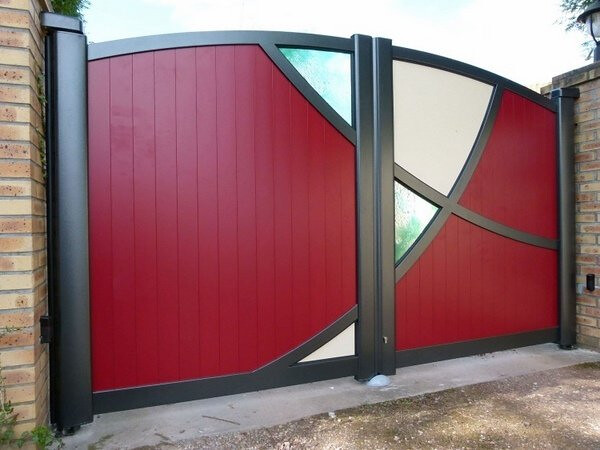 stunning modern gate design ideas 3