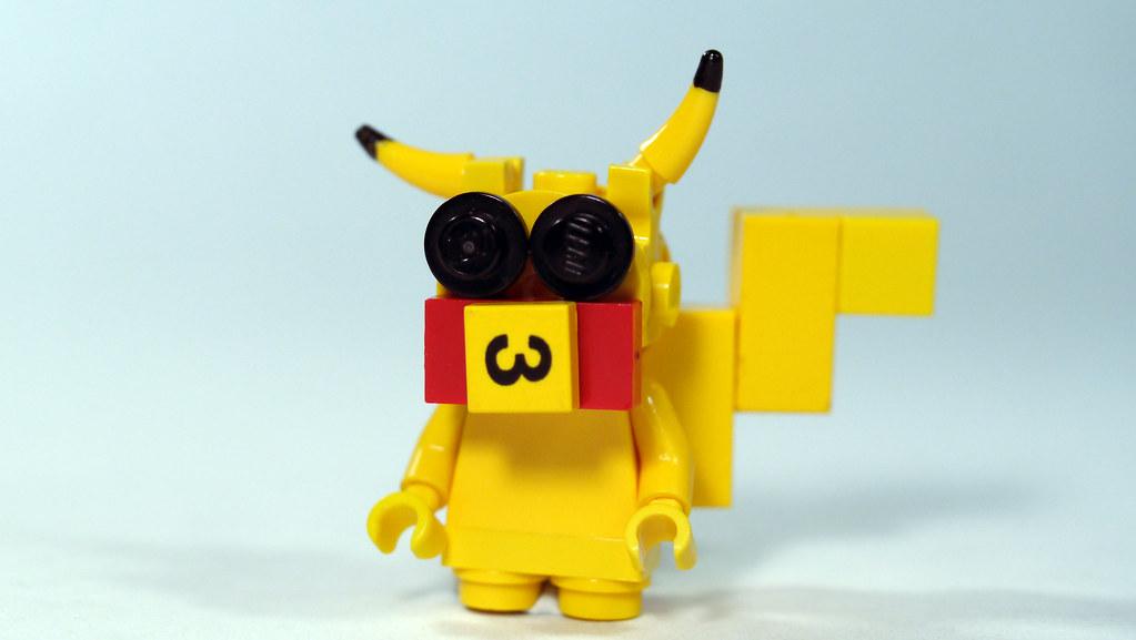 LEGO Pikachu Pokemon See How To Build It Wwwyoutube