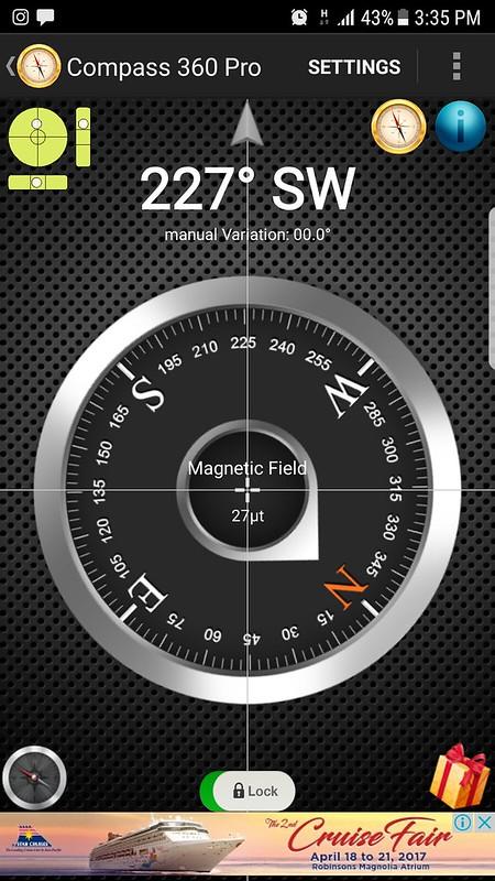 Southwest compass