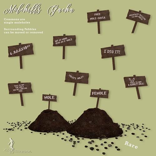 Molehills Gacha Key