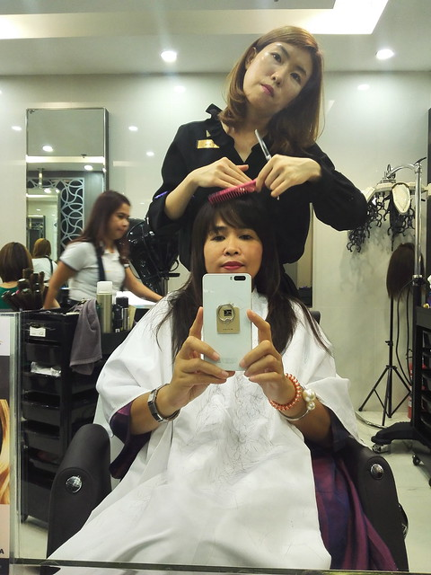 Bangs @ Tony & Jackey hair day