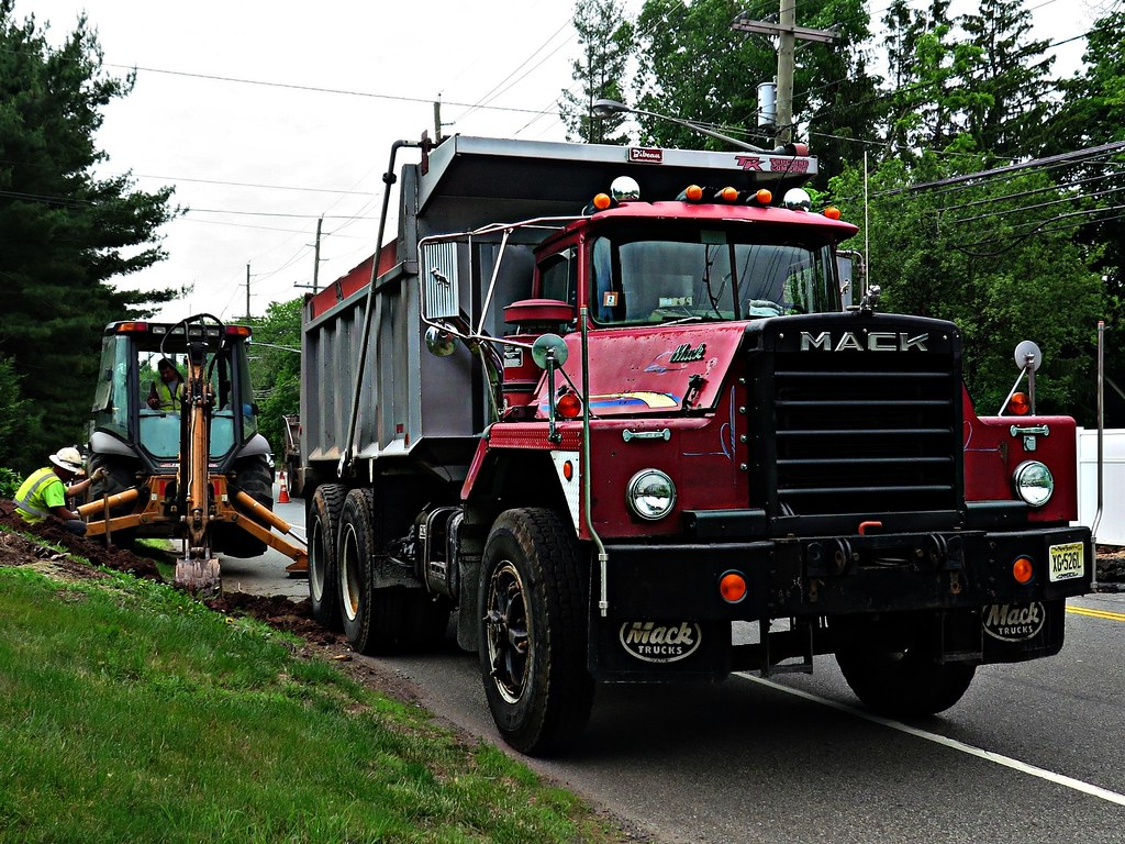 hight resolution of  mack dm dump truck by jack byrnes hill