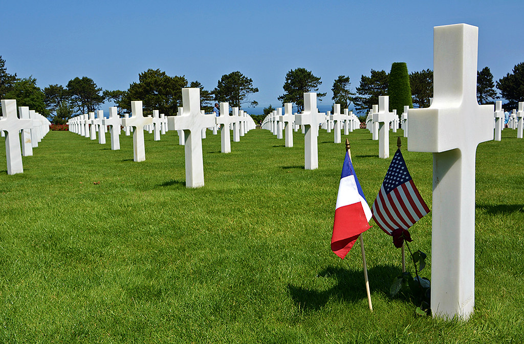 Cimitero e Monumento alla memoria Americano in Normandia  Flickr