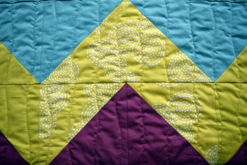 Chevron Heaven Quilt (April17 Popular Patchwork Magazine)