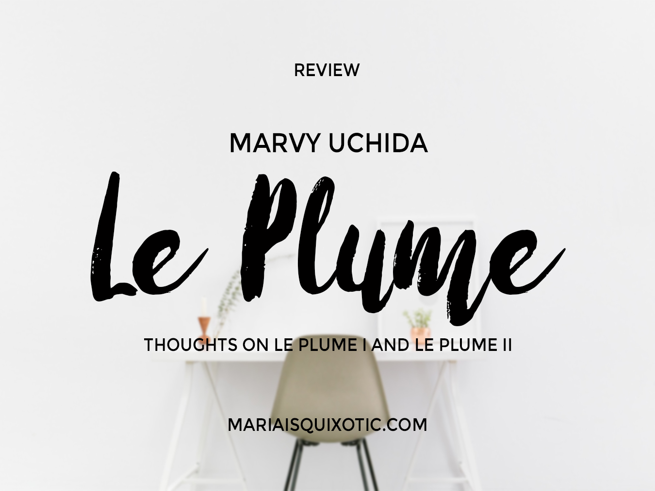 Marvy Uchida Le Plume I Vs Le Plume Ii Review Giveaway
