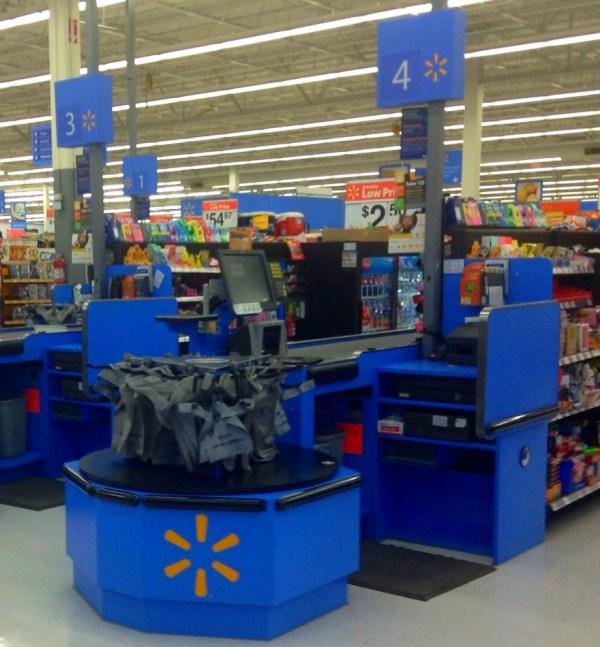 Walmart Cash Register