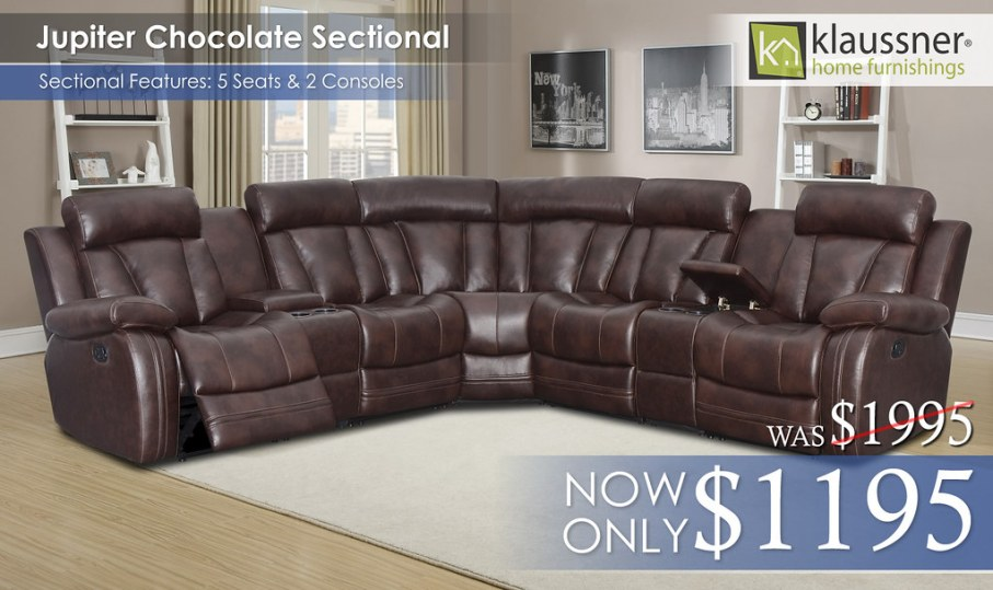 Jupiter Sectional by Klaussner