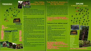 Brochure Thai Jungle Zipline and Trekking Chiang Mai Thailand 06