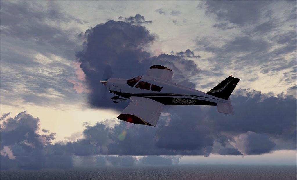 flying at boston flight