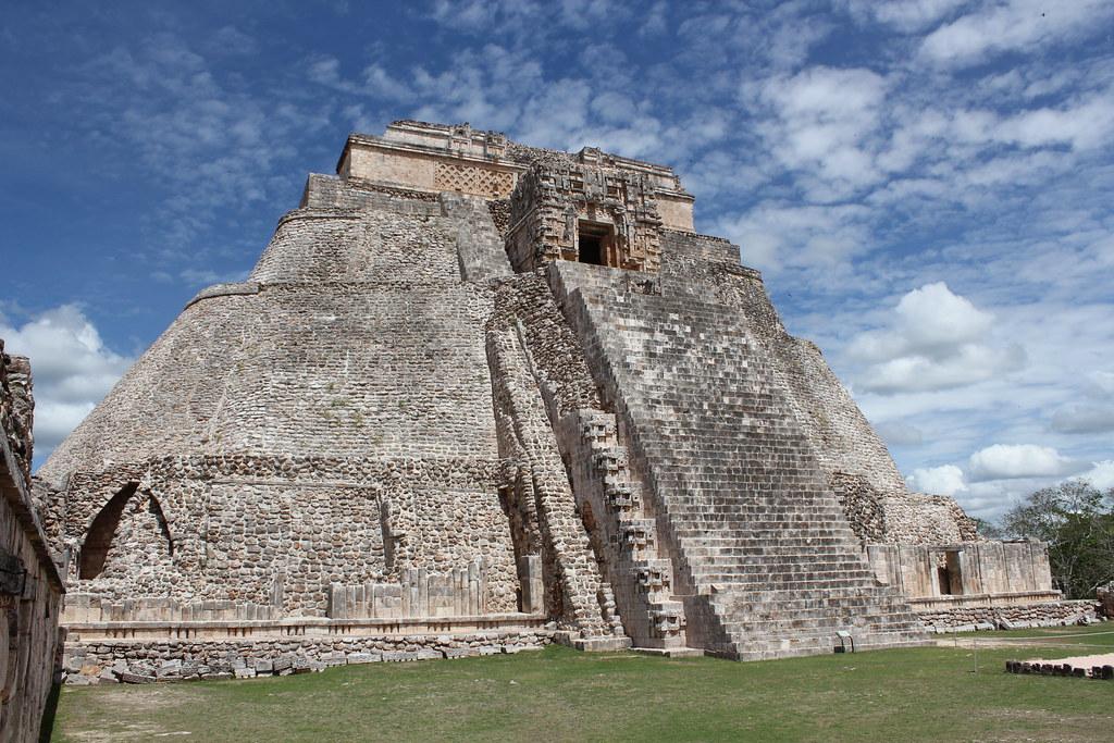 Uxmal Pyramid of the Magician  Uxmal Pyramid of the