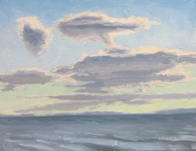 Clouds Over the Bay by Margie Guyot