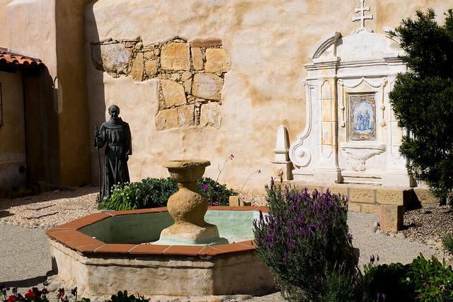 Fountain At Mission Carmel