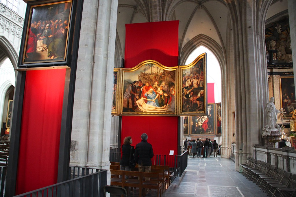 Antwerp Cathedral Art  Quentin Massys  Lamentation of