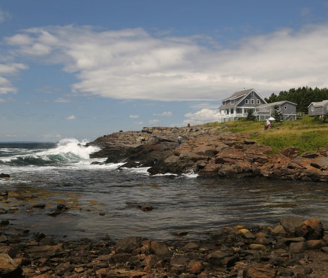 Lobster Cove A Day Trip To Monhegan Island Maine July 2014