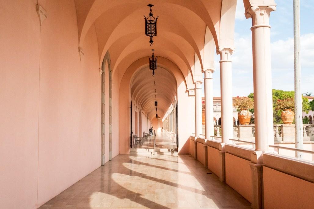 ringling-art-museum-corridor