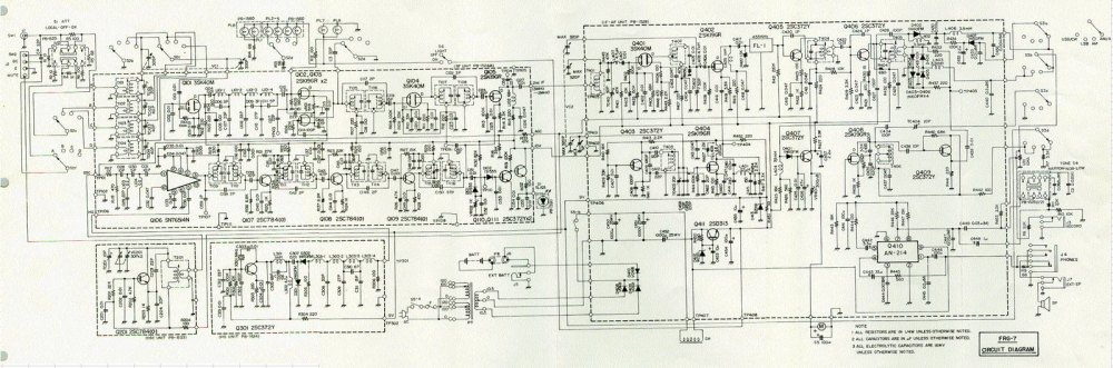 medium resolution of frg 7 replace electrolytic caps or leave well enough alone frg 7 circuit diagram