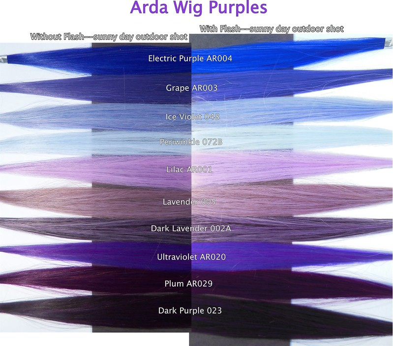 Arda Wig Swatches Amp Color Of The Week Archive Flickr