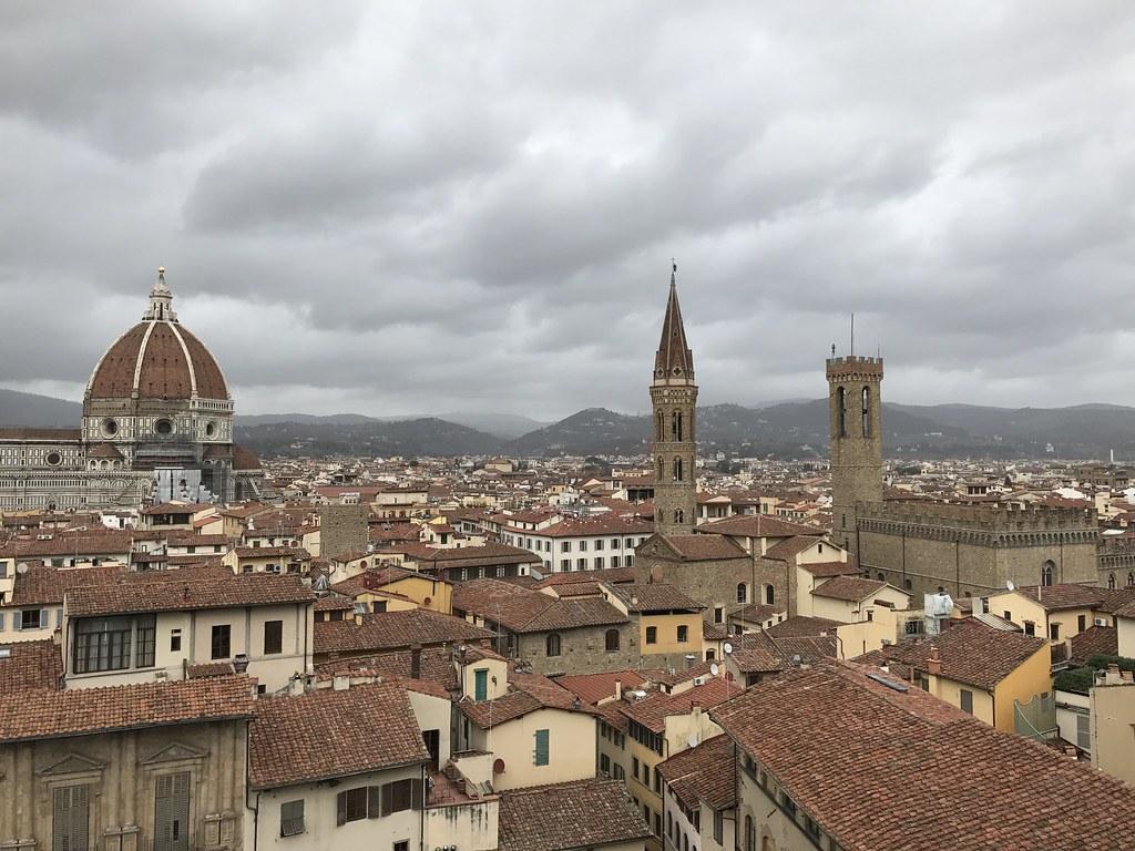 La Terrazza Palazzo Vecchio Florence Italy  Duomo