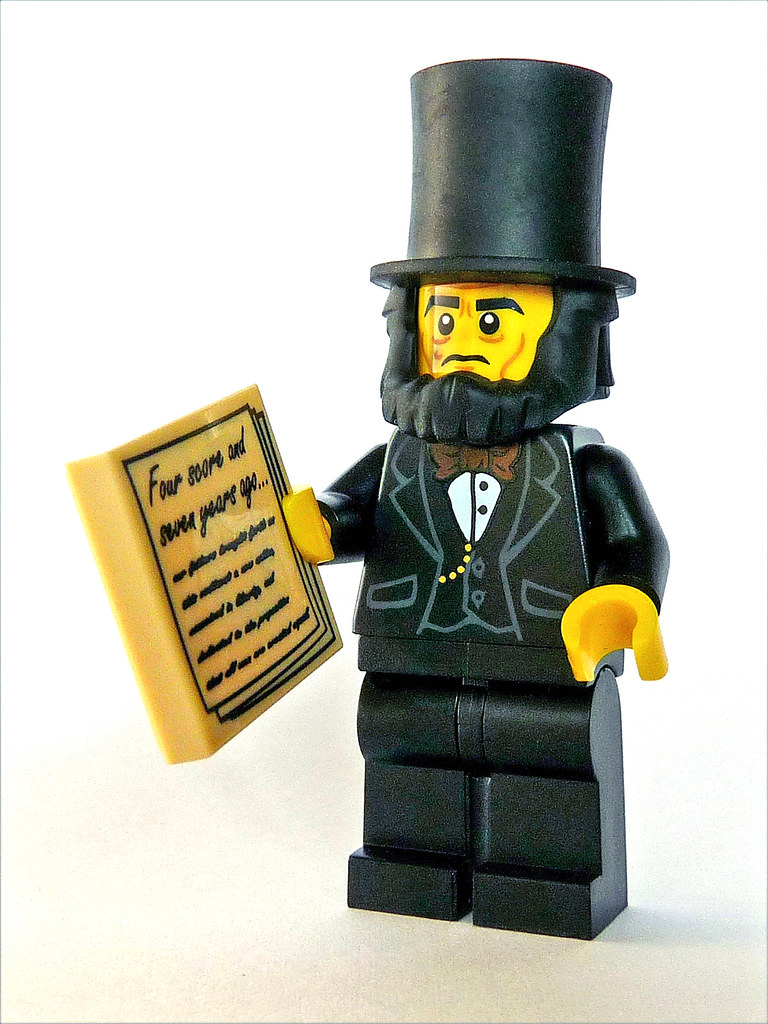 Abraham Lincoln  Abraham Lincoln is a Master Builder in