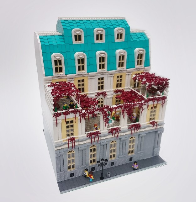 A five star hotel experience in lego the brothers brick for Lovely hotel