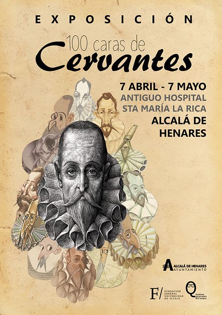 Affiche expo Cervantes