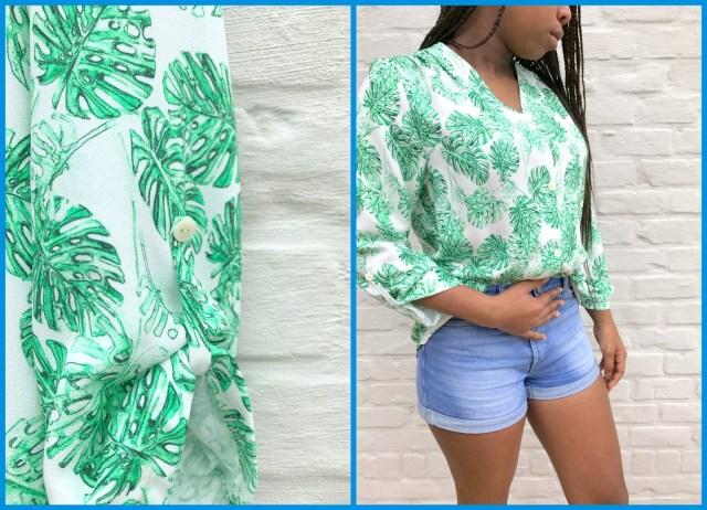 bellah blouse (collage)