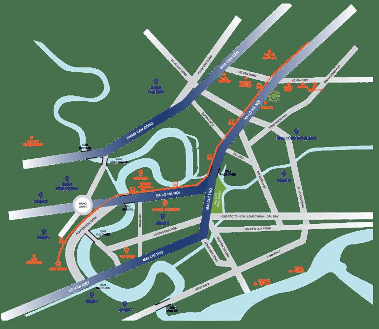 vi tri saigon gateway