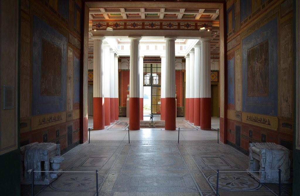 The Tablinium facing the Atrium decorated in the 4th Pomp  Flickr