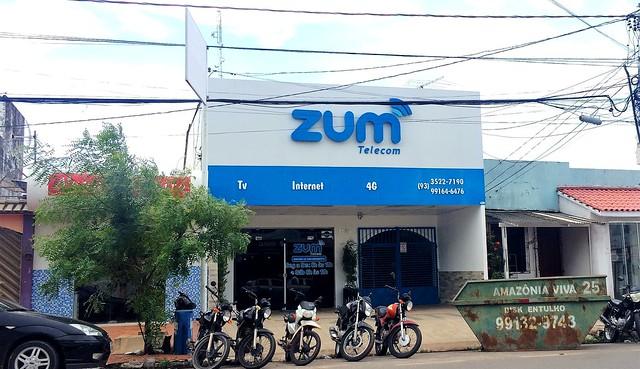 Zum Telecom é o provedor mais lembrado pelos santarenos, Fachada da Zum