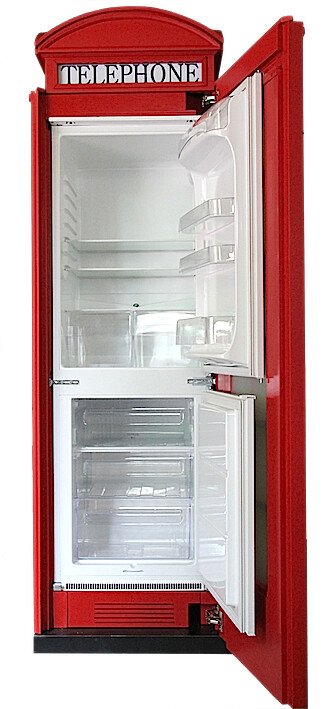 frigorifero bandiera inglese  Riproduzione artigianale in