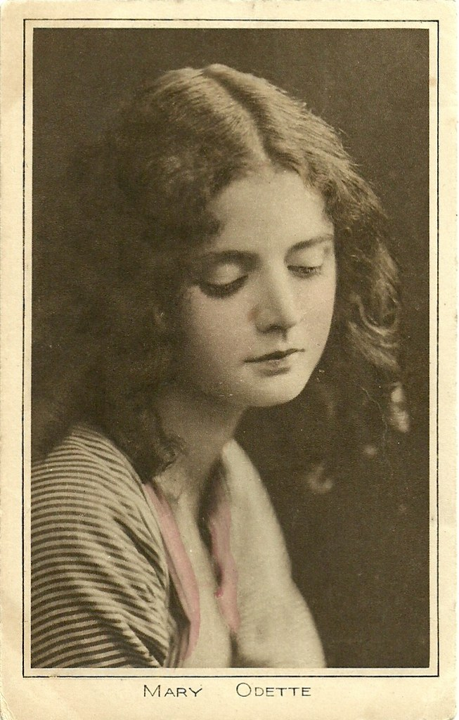 Mary Odette British Postcard In The Pictures Portrait Gall Flickr