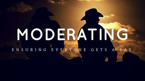 Moderating (1)