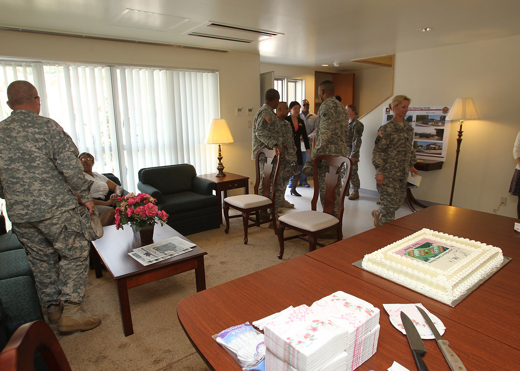 New Housing Units on Camp Zama  Command Sgt Maj Steven